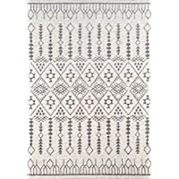 Momeni Rugs LIMA0LI-11IVY2376 Lima Collection Contemporary Area Rug, 23 x 76 Runner, Ivory