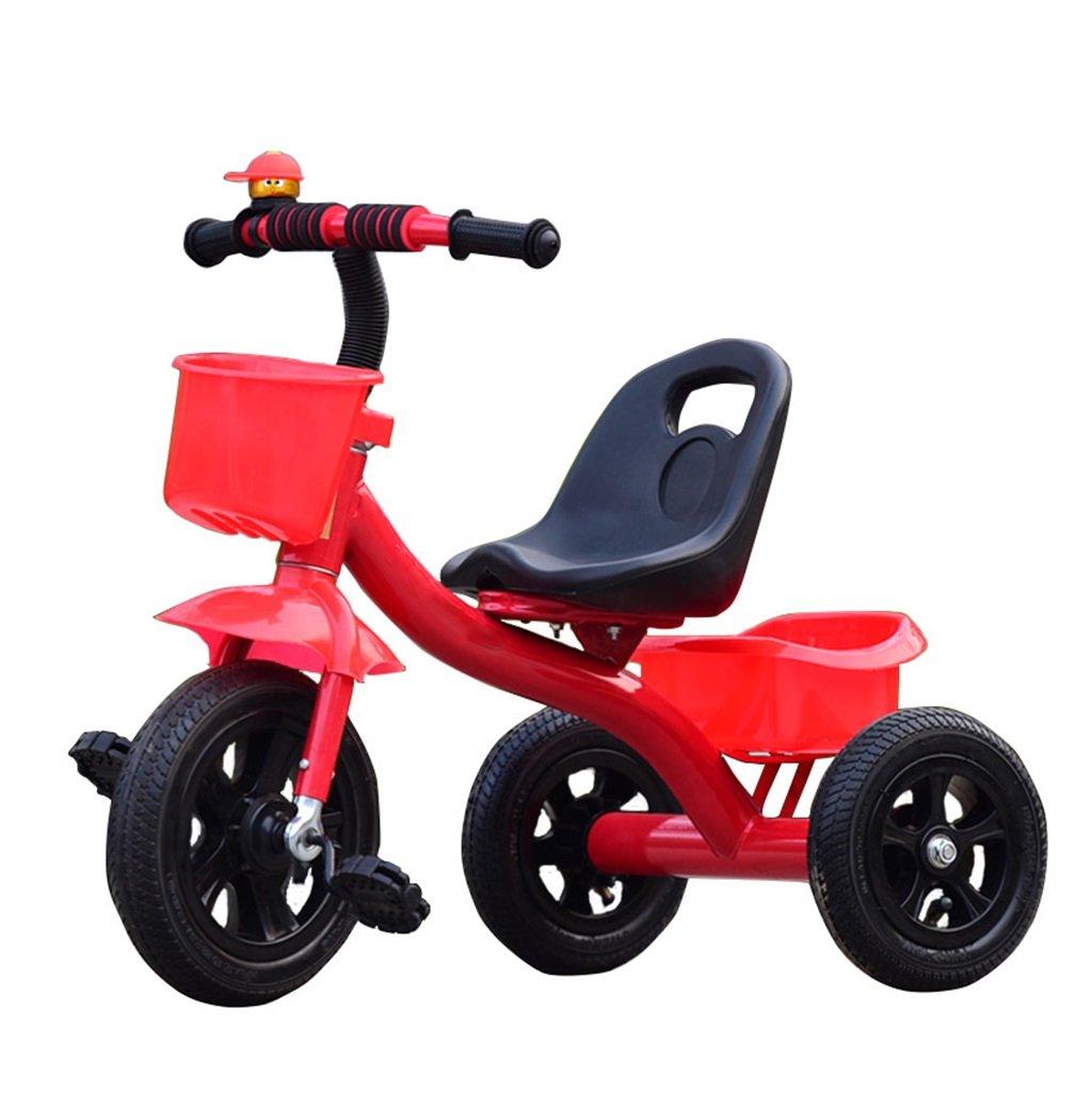 KANGR-子ども用自転車 三輪車の赤ちゃんキャリッジバイク子供のおもちゃの車のインフレータブルホイール/ 1-2-3-4歳(ボーイ/女の子)、赤に適した泡ホイール自転車 ( 色 : A type ) B07BTVRWKG A type A type