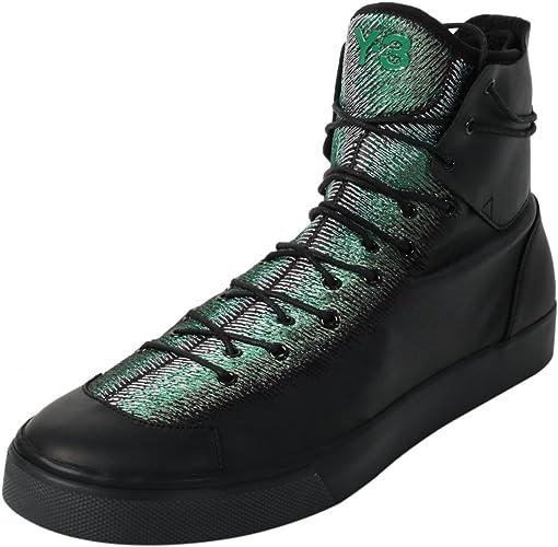 black adidas high tops mens