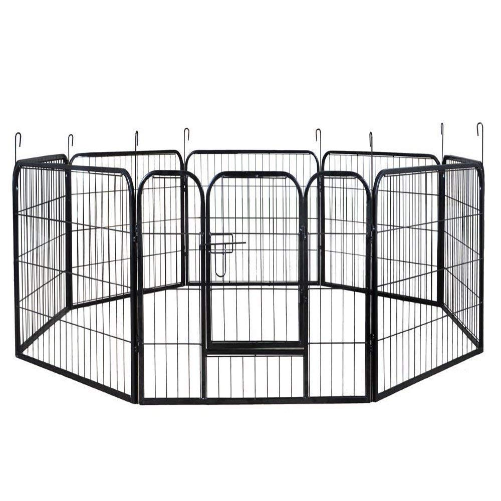 PetProgo Dog Fence Metal Playpen