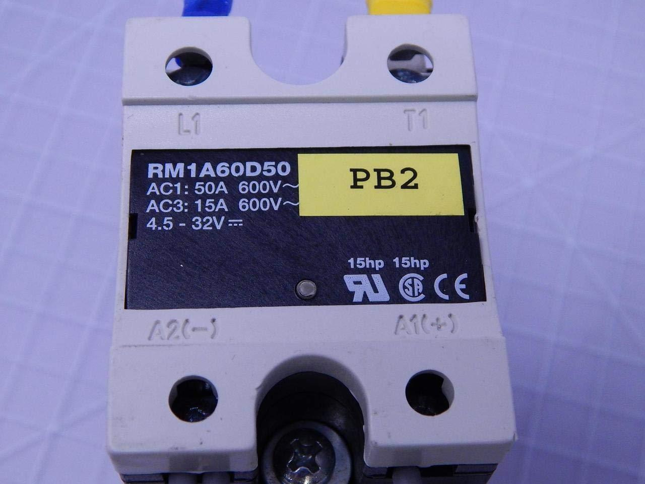 CARLO GAVAZZI RM1A60D50 SSR, PANEL MOUNT, 660VAC, 32VDC, 50A