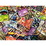 50 Assorted Pokemon Trading Cards w/ FREE EX or Full Art NO DUPLICATES by yugioh