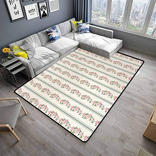 Floral,Home Bedroom Floor Mats 80