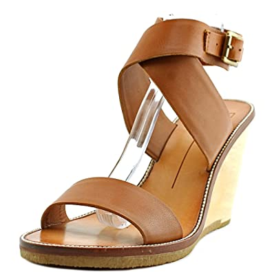 Dolce Vita Leather Wedged Sandals shopping online free shipping outlet get to buy iDY9KN04v
