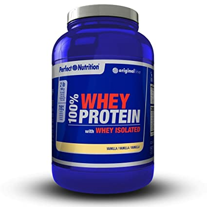 Proteinas Whey isolate 100% proteina de suero hidrolizada de alta calidad - 908g -Aumenta