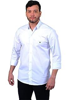 a1c7ee9212 Camisa Social Masculina Slim Premium Estilo Noruega  Amazon.com.br ...