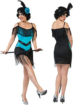 Funny Fashion Disfraz de Charleston Ivy Vestido de Damas Turquesa ...