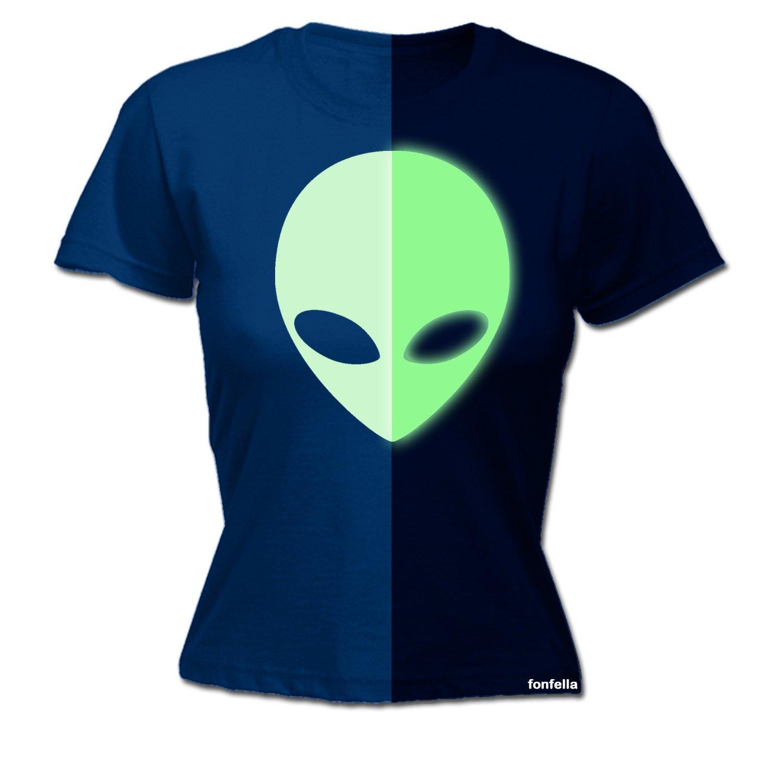 Traje de Neopreno para Mujer Brilla en la Oscuridad Alien ...