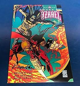 Batman Sword of Azrael TPB comic signed by Joe Quesada & Kevin Nowlan with COA