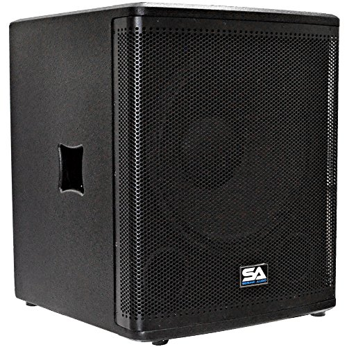 Seismic Audio MAGMA-118S 18-Inch Pro Audio Subwoofer Cabinet 800-Watts RMS PA/DJ Stage, Studio and Live Sound Subwoofer ()