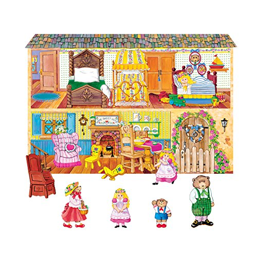 Little Folks Visuals LFV22011 Goldilocks & the Three Bears Flannel Boards