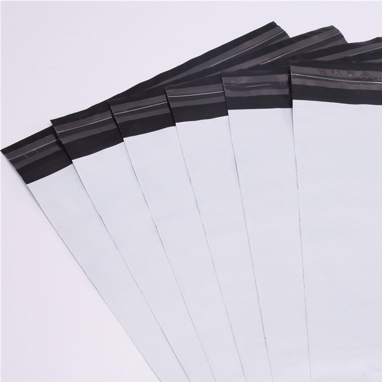 logei® 100ST plástico Sobres Bolsas de Envío pantalla Envío bolsillos bolsas para envío Ware bolsas de plástico para ropa y textiles autoadhesivo, opaco, 35 cm x 45 cm