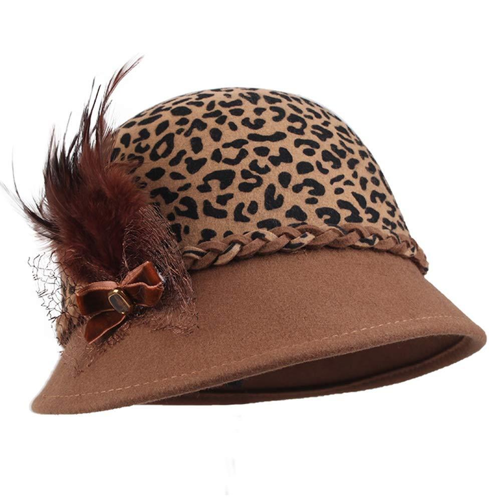 【ギフト】 GLJF : トップ帽子 B07JNNBBCW、ファッション秋と冬の帽子女性の英国のドームウール帽子帽子帽子フェルトハットファッションハット (色 : A) B07JNNBBCW A) A, メロウストア:21f6a9d4 --- pizzaovens4u.com