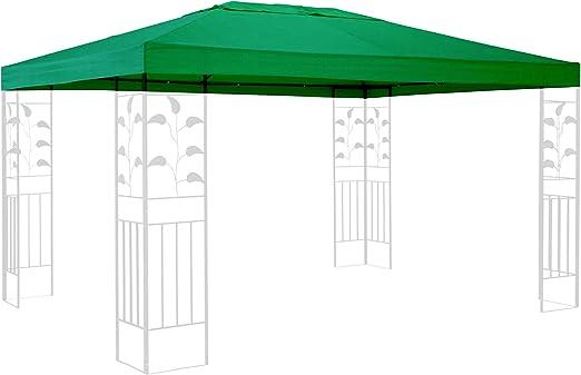 QUICK STAR Techo de Repuesto para cenador de 3 x 4 m Gazebo Verde ...