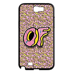 Ofwgkta Odd Future OF Earl Golf Wang Samsung Galaxy Note 2 N7100 Hard Case Cover Custom Fashion Pink Donuts Phone Case at Big-dream