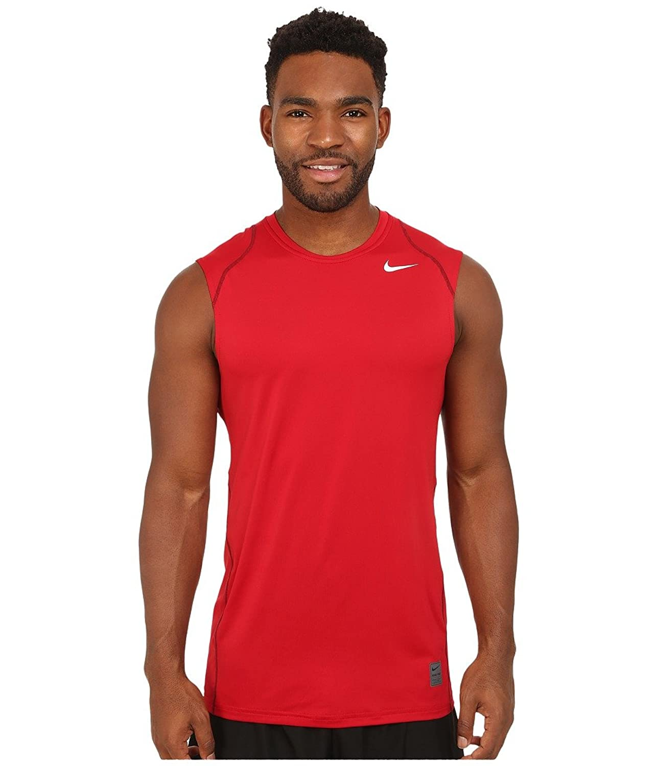 Nike mens dri fit pro cool fitted sleeveless training t for Nike men s pro cool sleeveless shirt