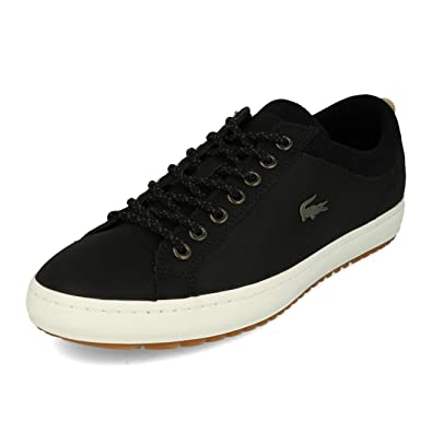 00b7c73ff1f Lacoste Straightset Insulate C 3181 CAM Black Brown  Amazon.fr  Chaussures  et Sacs
