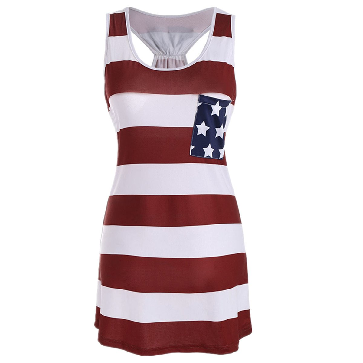 ee5a85159316 Womens PLUS SIZE American Flag Shirt Short Sleeve USA T-Shirts Tank Top  Blouses This Print American flag blouses tops can use for the celebrate 4th  of July.