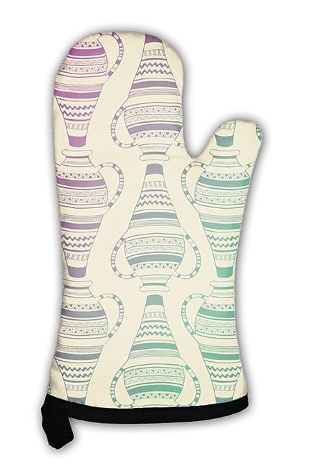 Amazon Gear New Oven Mitt Pattern Of Ornate Vases Gn31001