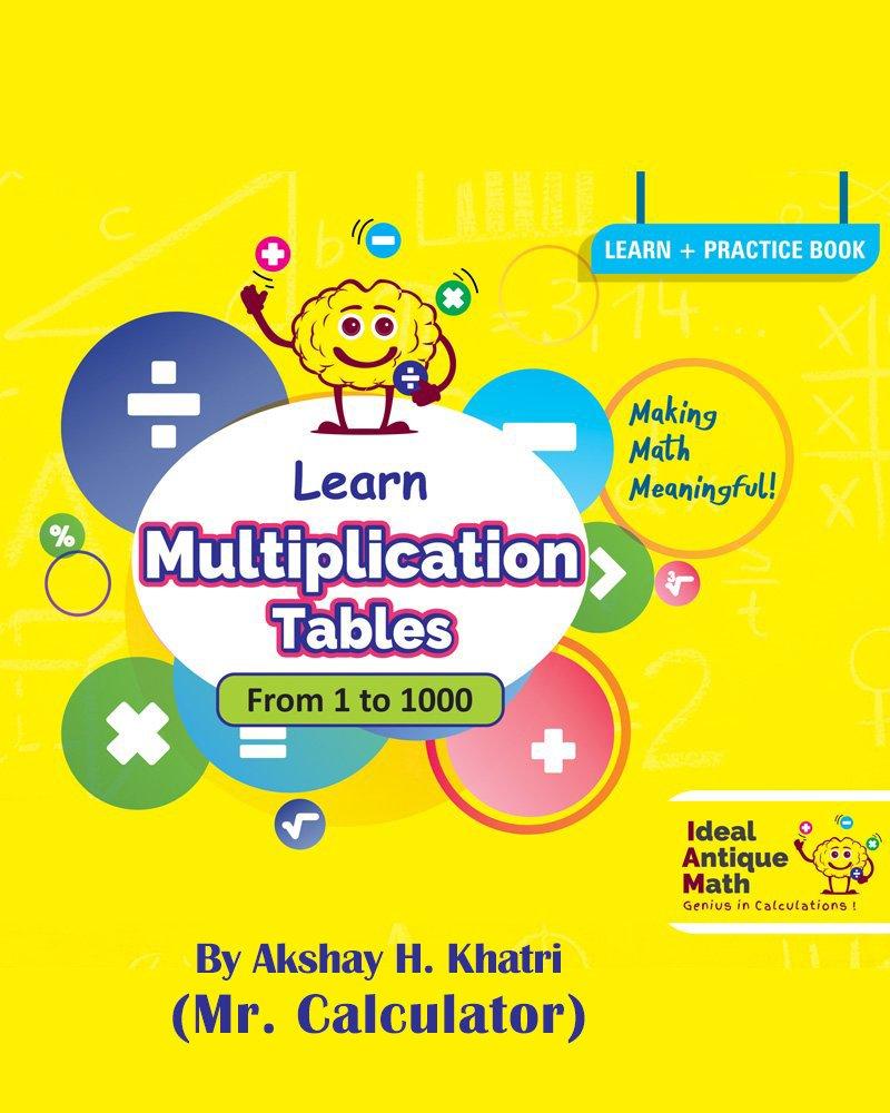 Buy Antique Math Multiplication Tables (Hindi) - Mental