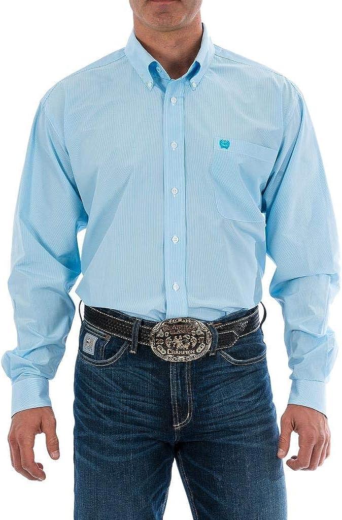 Cinch Men's Tencel Classic Fit Long Sleeve Shirt