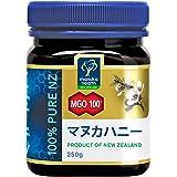 MANUKA HEALTH マヌカヘルス ニュージーランド産はちみつ マヌカハニー MGO100+ 250g 日本語表示ラベル