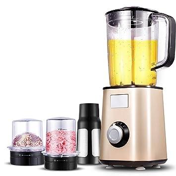 LJHA Exprimidor multifuncional automático multifuncional casero de la fruta y verdura, oro 270 * 270 * 295 del champán Licuadora: Amazon.es