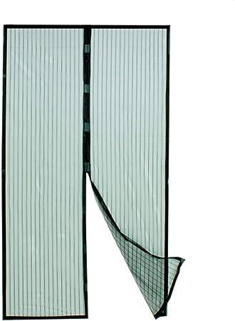 Insektenschutzvorhang Turvorhang Magnet Verschluss Insektenschutz Tur Fliegennetz Fliegengitter Amazon De Garten