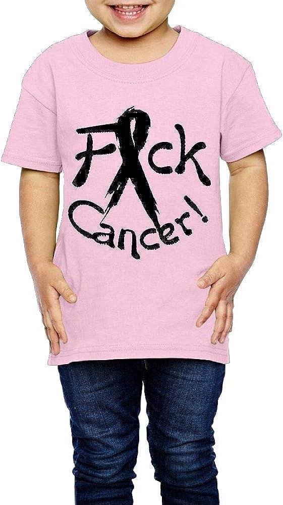 XYMYFC-E FCK Cancer 2-6 Years Old Child Short-Sleeved Tshirts
