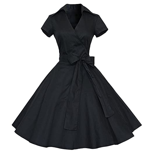 Amazon.com Alixyz Women Vintage Dress 60S Retro Party Ball