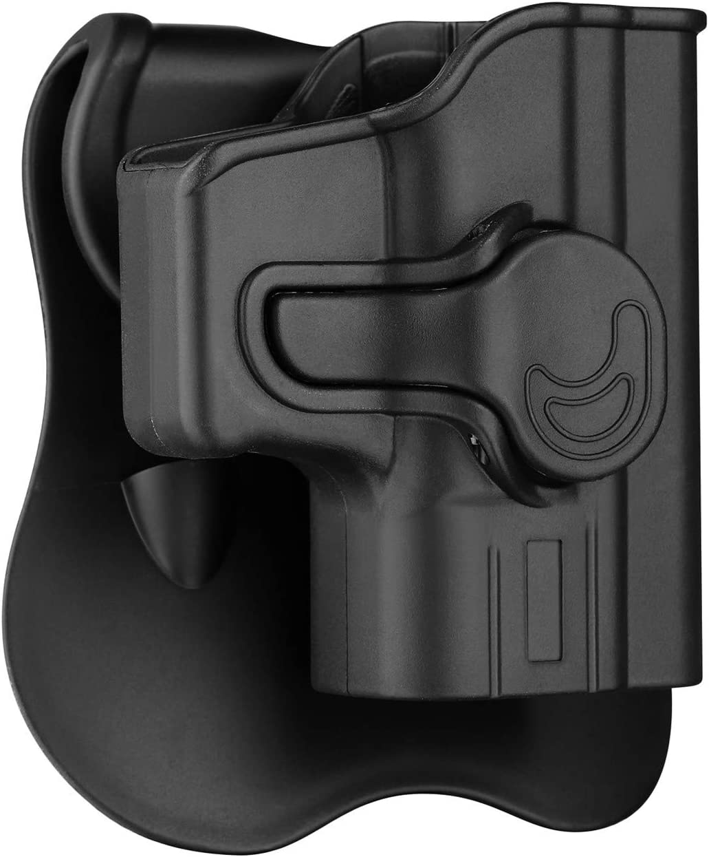 "Springfield Armory XD 40 Holster OWB, Outside The Waistband Carry Paddle Holster Fit XD 3""SUB-Compact .40SW, Polymer Belts Holsters Right Hand"