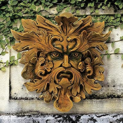 Design Toscano Oak King Greenman Wall Decor : Wall Sculptures : Garden & Outdoor