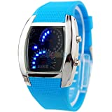 Acamifashion Fashion Men Women Sport LED Dashboard Pattern Dial Digital Wrist Watch