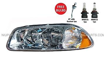Headlight Driver Side (Fit: Mack CXN613 CXU613 CT713 GU813)