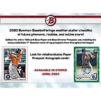 $41 » Topps 2020 Bowman Baseball Retail Value Box