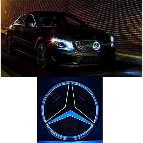 Csz Car Front Grilled Star Emblem LED Illuminated Logo for Mercedes Illuminated Mercedes Star Wiring Diagram on