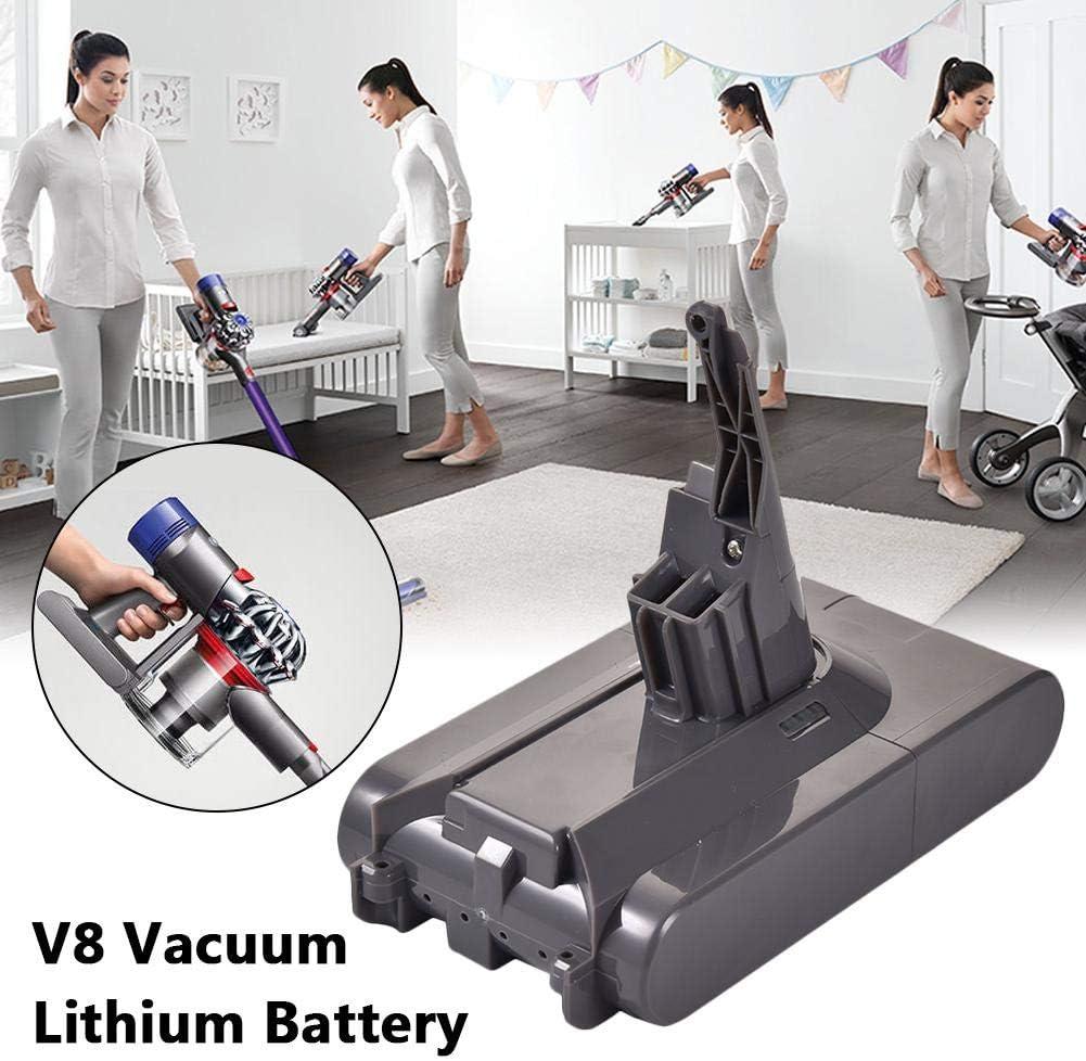 Dedeka Batería de Repuesto para Dyson V8 21.6V 3000mAh Batería para Dyson per Absolute Cord-Free Vacuum Handheld Vacuum Cleaner