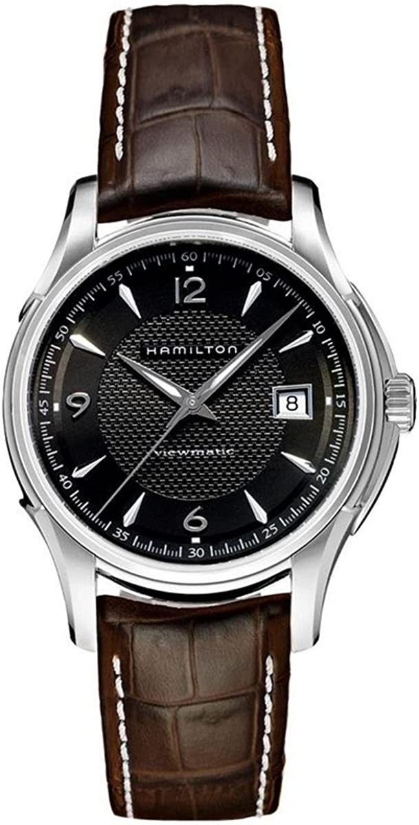 Hamilton Men s Automatic Jazzmaster Black Dial Stainless Steel Watch