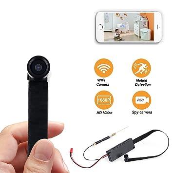 SpyCent Mini WiFi Cámara Oculta Tornillo Espía Portátil Movimiento Sensor de Activación de Visión Gran Angular: Amazon.es: Electrónica