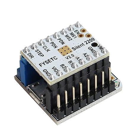 MYAMIA Tmc2209 V2.0 Controlador De Motor Paso A Paso + Probador ...