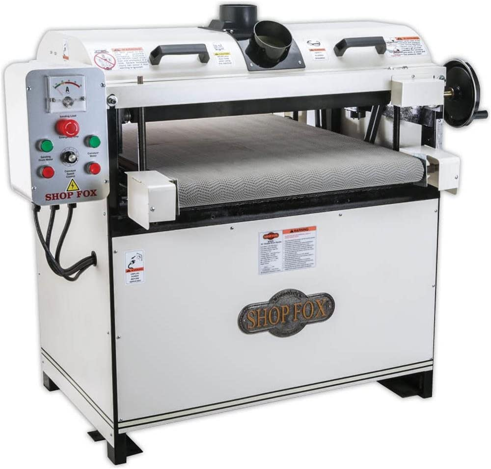 2. Shop Fox W1678 5 HP 26-Inch Drum Sander