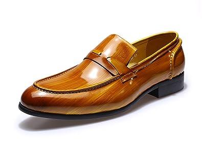 amazon com felix chu men s dress shoes patent leather shoes men