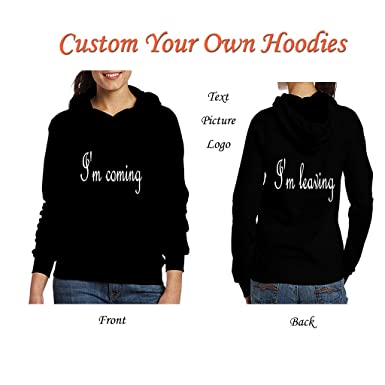 Women Custom Jersey Hoodies - Design Your Own Hoodie - Personalized  Confortable Pullover Team Sweatshirts Black 6408a4c103