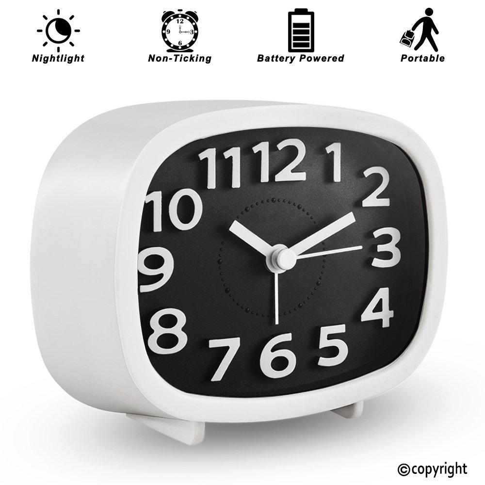 Best Simple Modern Clocks For Bedrooms Amazon