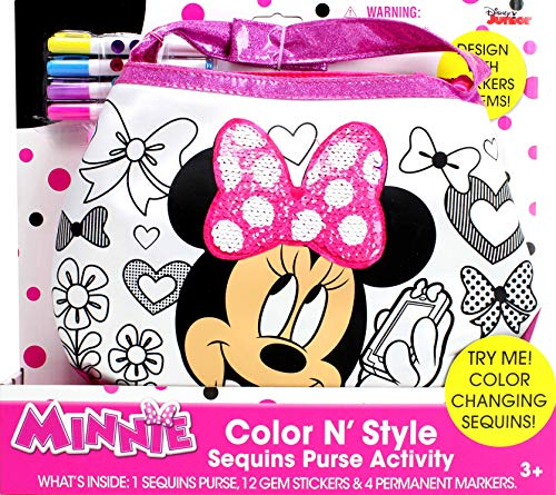 Minnie Mouse Color N Style Fashion Purse