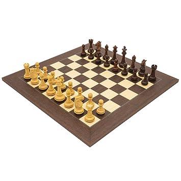 The Regency Chess Company Ltd el templario Palisandro De Lujo Juego de ajedrez: Amazon.es: Juguetes y juegos