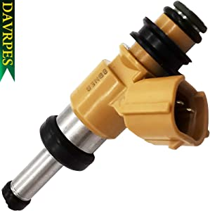DAVRPES 1Pcs 2C0-13761-00-00 Fuel Injectors Fuel Spray Nozzle Engine Replacement For Yamaha R1 YZFR1 YZF-R1 Replace# 2C0137610000
