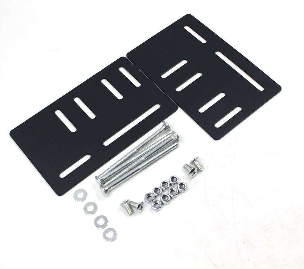 iFJF Anti-Rust - Zinc galvernized - Bed Frame Headboard Bracket Modification Modi-Plate Vertical Modi -Set of 2