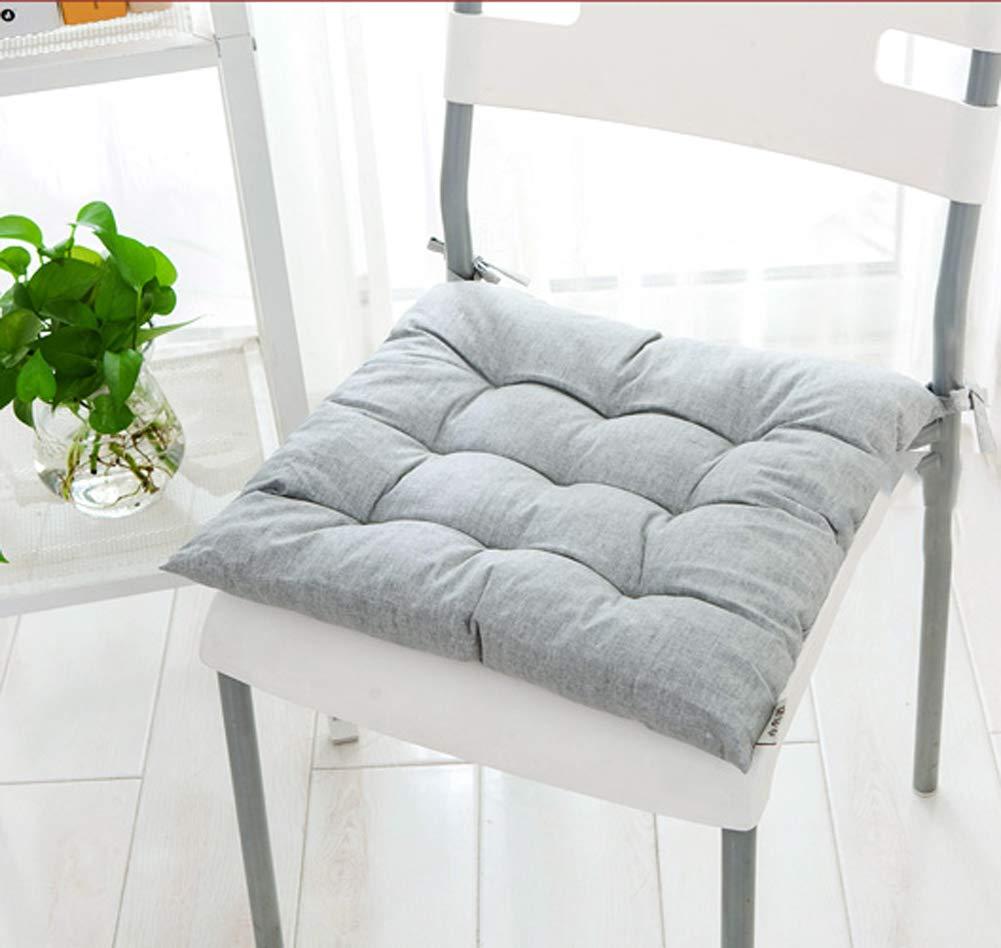 DADAO Premium Comfort Seat Cushion Coccyx Orthopedic Memory Foam Lumbar Support Pillow-White 45x45cm(18x18inch)