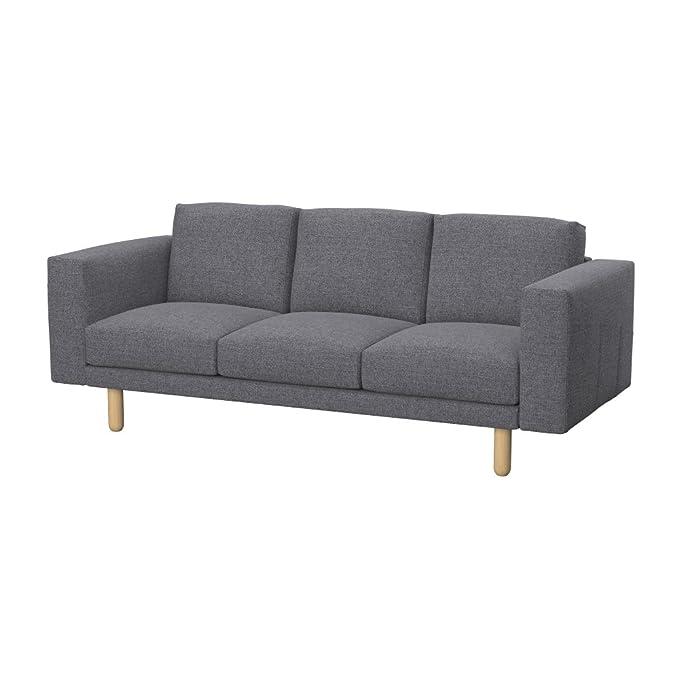 Amazon.com: Soferia Replacement Cover for IKEA NORSBORG 3 ...